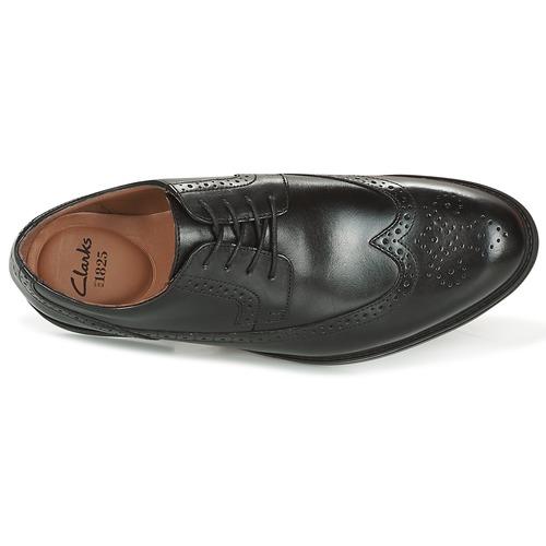 Clarks BLACK LEATHER Schwarz  79,99 Schuhe Derby-Schuhe Herren 79,99  ab5ead