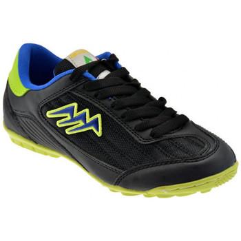 Schuhe Kinder Fußballschuhe Agla K350Outdoorfutsal Schwarz