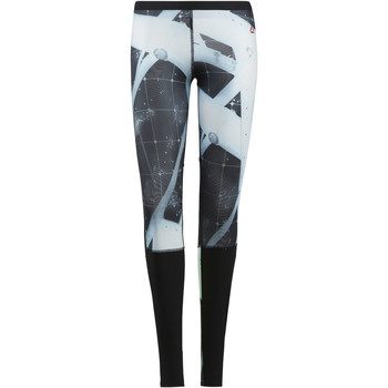 Kleidung Damen Leggings Reebok Sport CrossFit Compression Leggings – Heliorig Print Schwarz