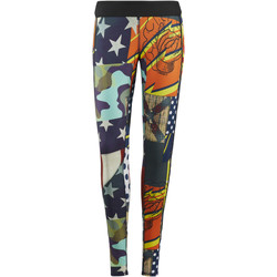 Kleidung Damen Leggings Reebok Sport CrossFit Leggings – Starbang Print Blau