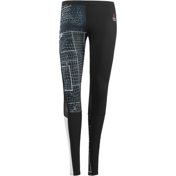 Kleidung Damen Leggings Reebok Sport CrossFit Compression Legging Schwarz