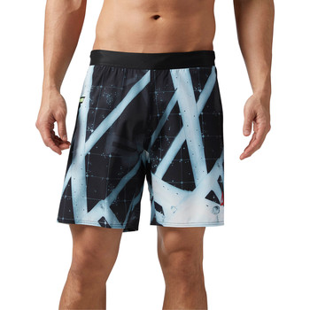 Kleidung Herren Shorts / Bermudas Reebok Sport CrossFit Games Super Nasty Speed Board Shorts Schwarz