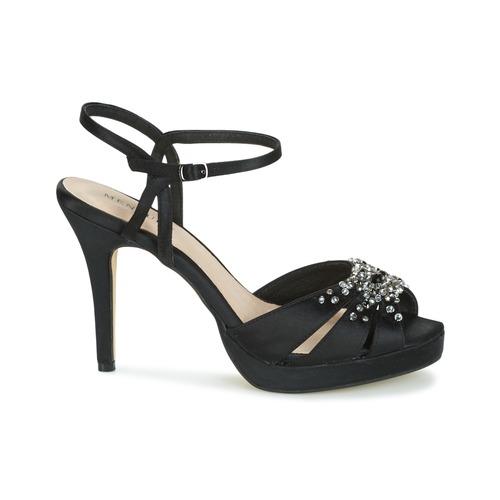 Menbur ALCAZR Schwarz Schuhe  Schuhe Schwarz Sandalen   Sandaletten Damen 7383c5