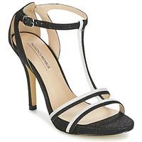 Schuhe Damen Sandalen / Sandaletten Menbur LOJA Schwarz