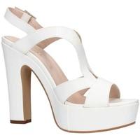 Schuhe Damen Sandalen / Sandaletten Martina B 0471 weiß