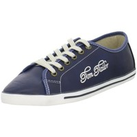Schuhe Damen Sneaker Low Tom Tailor 279310200BLUE Blau