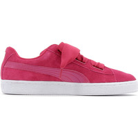 Schuhe Kinder Sneaker Low Puma Suede Heart  Patent