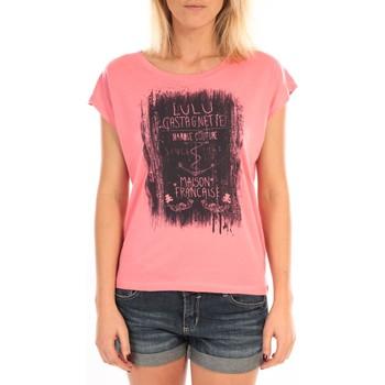 Kleidung Damen Tops / Blusen LuluCastagnette Top Luna Print Rose Rose