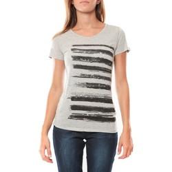 Kleidung Damen T-Shirts LuluCastagnette Tee shirt Pali Gris Grau