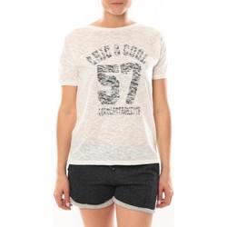 Kleidung Damen T-Shirts LuluCastagnette T-shirt Cool Blanc Weiss