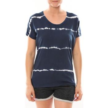 Kleidung Damen T-Shirts LuluCastagnette T-Shirt Bobo Marine Blau