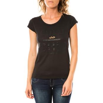 Kleidung Damen T-Shirts LuluCastagnette T-shirt Chicos Noir Schwarz