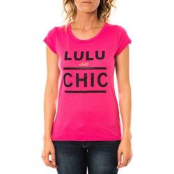 Kleidung Damen T-Shirts LuluCastagnette T-shirt Chicos Rose Rose
