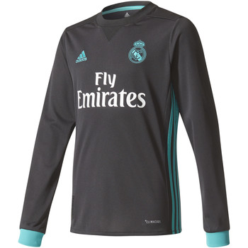 Kleidung Jungen Langarmshirts adidas Performance Real Madrid Extérieur 2017 / 2018 Youth LS