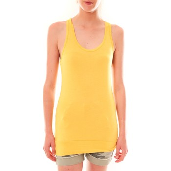 Kleidung Damen Tops Sweet Company Debardeur 107672  Jaune Gelb