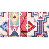 Taschen Damen Geldbeutel Roxy MONEDERO  My Long Eyes MULTICOLOR