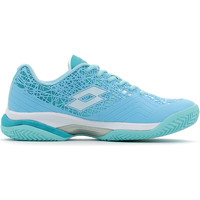Schuhe Damen Indoorschuhe Lotto Viper Ultra III Clay W Blau