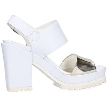 Schuhe Damen Sandalen / Sandaletten Emporio Di Parma 612 Weiß / Platin