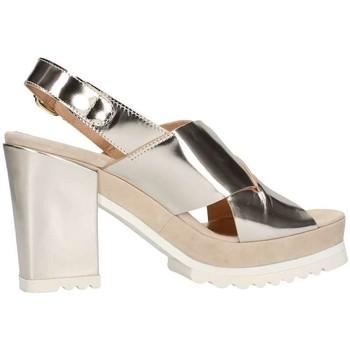 Schuhe Damen Sandalen / Sandaletten Emporio Di Parma 613 Platin