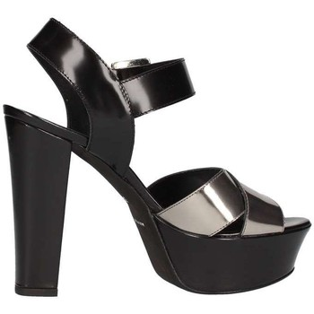 Schuhe Damen Sandalen / Sandaletten Emporio Di Parma 625 Schwarz / Stahl