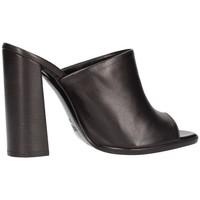 Schuhe Damen Sandalen / Sandaletten Silvana 322p verdrängt Frau schwarz schwarz