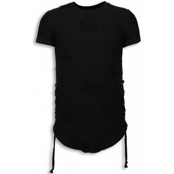 Kleidung Herren T-Shirts Justing  Schwarz