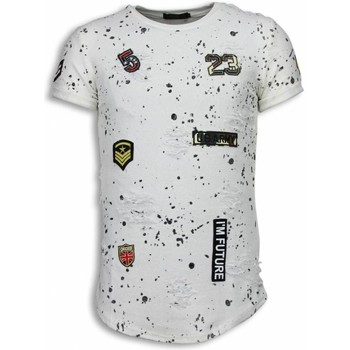 Kleidung Herren T-Shirts Justing  Weiß