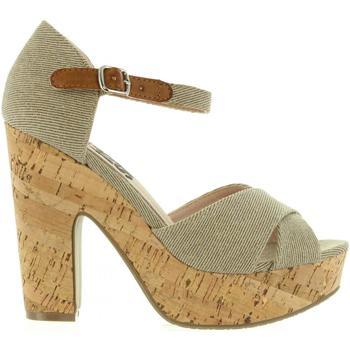 Schuhe Damen Sandalen / Sandaletten Refresh 63254 Marrón