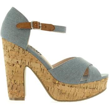 Schuhe Damen Sandalen / Sandaletten Refresh 63254 Azul