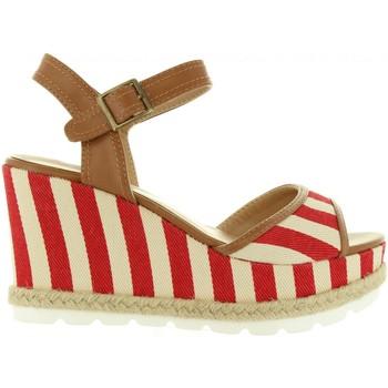 Schuhe Damen Sandalen / Sandaletten Refresh 63508 Rojo
