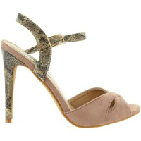 Schuhe Damen Pumps Refresh 63496 Marrón