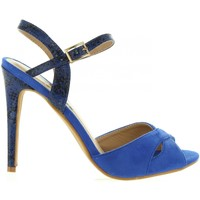 Schuhe Damen Pumps Refresh 63496 Azul