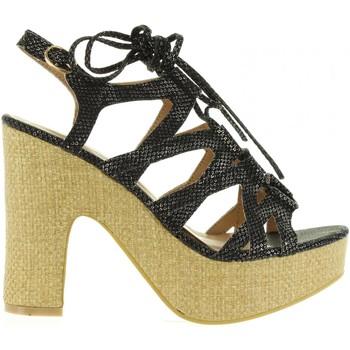 Schuhe Damen Sandalen / Sandaletten Refresh 63507 Negro