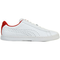 Schuhe Herren Sneaker Low Puma Court Star Crafted Weiss