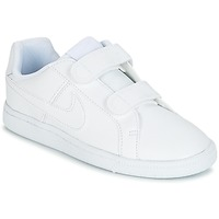 Schuhe Kinder Sneaker Low Nike COURT ROYALE CADET Weiss