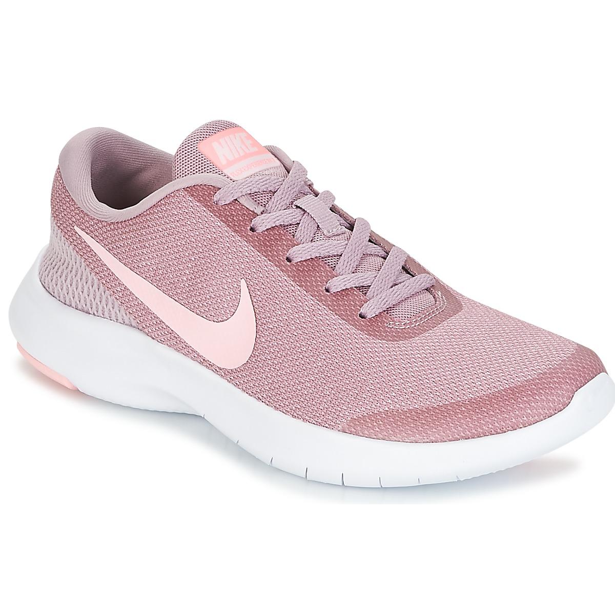 Nike FLEX EXPERIENCE RUN 7 W Rose - Kostenloser Versand bei Spartoode ! - Schuhe Laufschuhe Damen 51,99 €