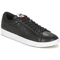 Schuhe Damen Sneaker Low Nike BLAZER LOW LEATHER W Schwarz