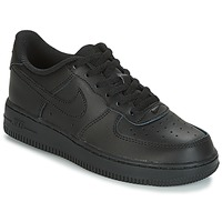Schuhe Kinder Sneaker Low Nike AIR FORCE 1 CADET Schwarz