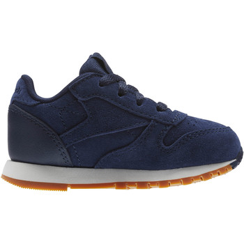Schuhe Kinder Sneaker Low Reebok Classic Classic Leather EBK - Infant & Toddler Blau