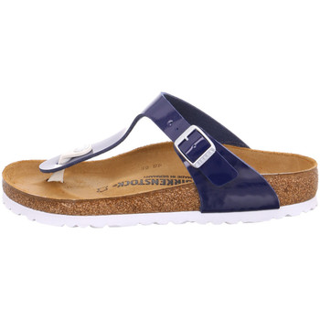 Schuhe Damen Zehensandalen Birkenstock Gmbh & Co. Kg Serv - 1005301 Patent Dress Blue