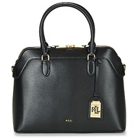 Taschen Damen Handtasche Ralph Lauren NEWBURY NORA DOME Schwarz