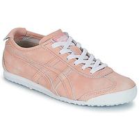 Schuhe Damen Sneaker Low Onitsuka Tiger MEXICO 66 Korallenrot