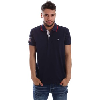 Kleidung Herren Polohemden Key Up 256QG 0001 Polo Man Blue Blue