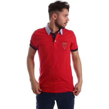 Kleidung Herren Polohemden Key Up 263RG 0001 Polo Man Rot Rot