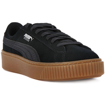 Schuhe Damen Sneaker Low Puma SUEDE PLATFORM ANIMAL    123,8
