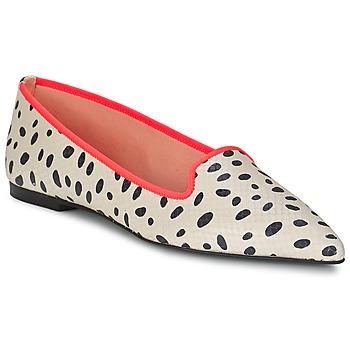 Schuhe Damen Ballerinas Pretty Ballerinas MEIJI Naturfarben