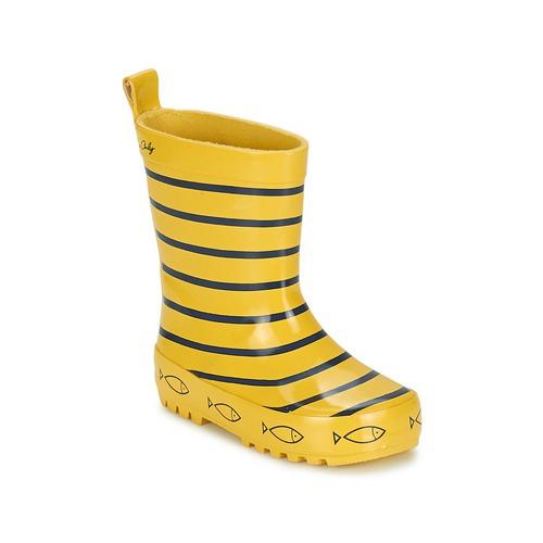 Schuhe Kinder Gummistiefel Be Only TIMOUSS Gelb / Blau
