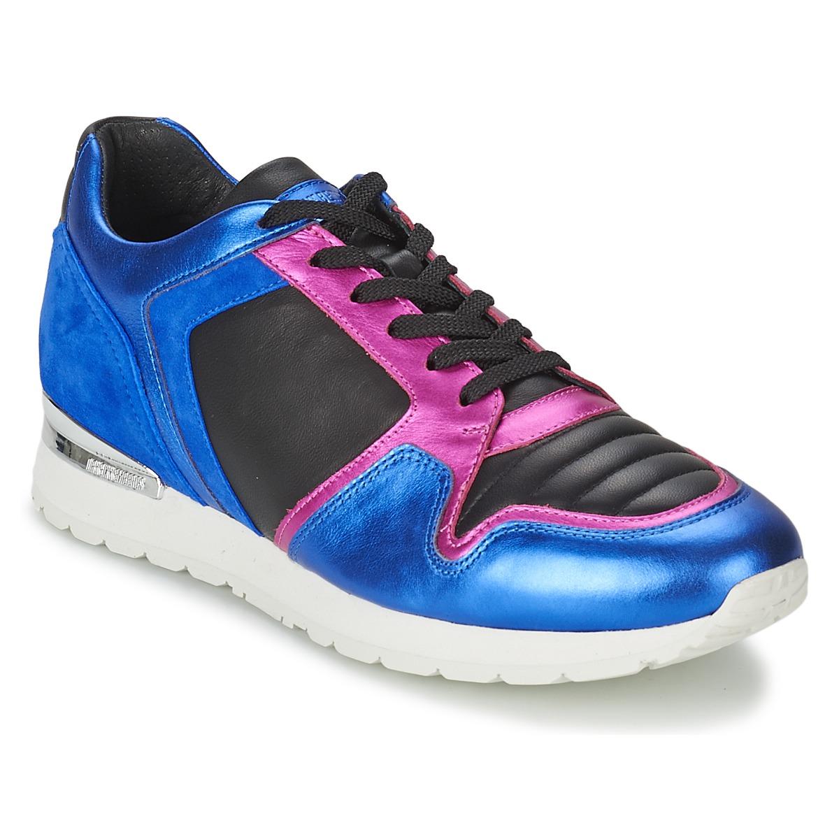Bikkembergs KATE 420 Blau - Kostenloser Versand bei Spartoode ! - Schuhe Sneaker Low Damen 112,50 €