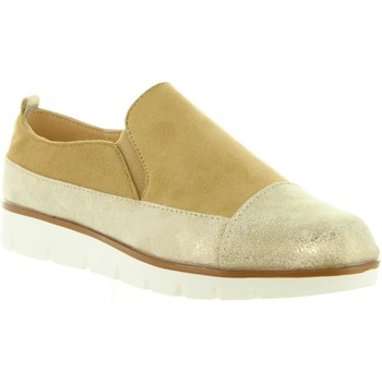 Schuhe Damen Slip on Top Way B719403-B7200 Gold