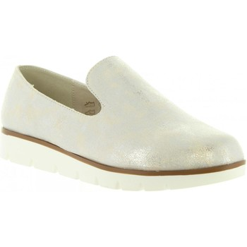 Schuhe Damen Slipper Top Way B719391-B7200 Plateado